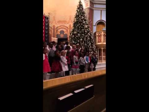 Mimi's PreS Class performs at Walther Christian Academy's 2