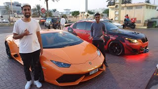 WE RENTED A LAMBORGHINI IN DUBAI| MO VLOGS |