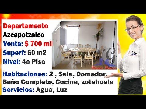 Azcapotzalco Departamento en Venta