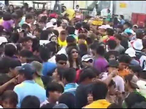 Show de CORAZÓN SERRANO en la Playa San Pablo-Piura