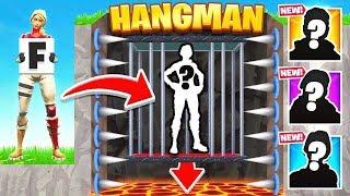 HANGMAN GUESS The SKIN (Fortnite)
