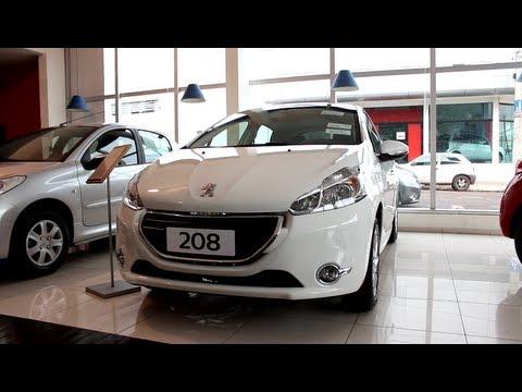Test Drive Peugeot 208 Allure 1.5 2014