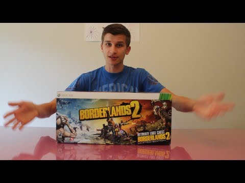 Borderlands 2 Ultimate Loot Chest Edition Unboxing!!!
