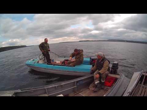 видео поймал щуку и утопил лодку
