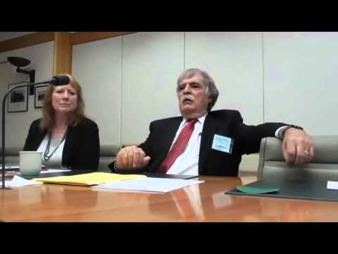 Prof  Justin McCarthy's speech at the Federal Parliament in Canberra   Part2