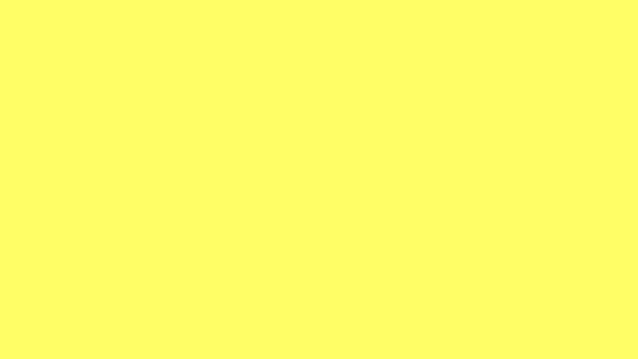 Hrs Of Solid Light Yellow Youtube