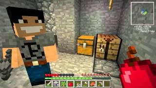 Minecraft - Floating Island Survival #04 - Gremu & MacieGTMPI - Okienko!