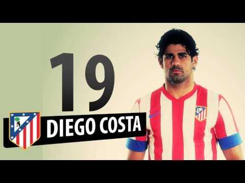 Liga 2012/13. Once titular del Atlético de Madrid para recibir al Rayo en el Calderón #OnceATM
