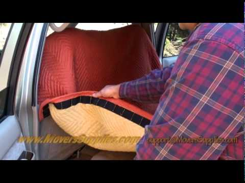Moving Blanket Car Cover