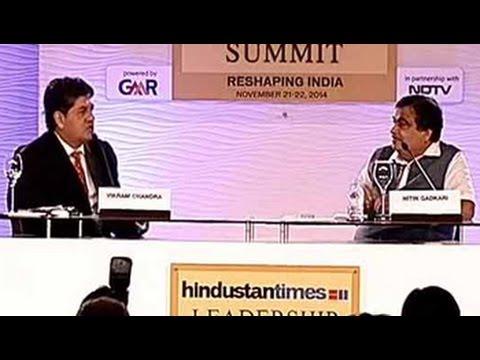 Nitin Gadkari on creaking infrastructure, rickety development