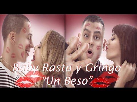 Baby Rasta y Gringo - Un Beso (Video Lyrics 2015)
