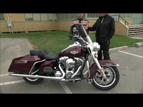 Harley Ddson Road King Motorcycle Experience Road Test