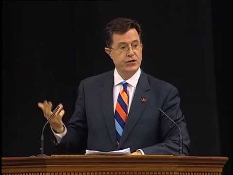 Stephen Colbert Salutes U.Va.'s Class of 2013