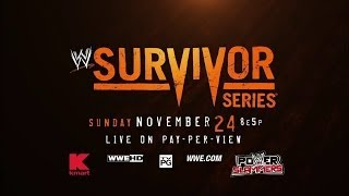 WWE Survivor Series 2013 - Official Promo [720p HD]