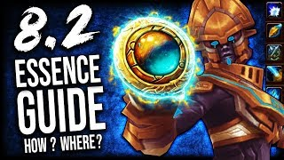 BFA ESSENCE GUIDE for Patch 8.2 (Heart of Azeroth Essences)