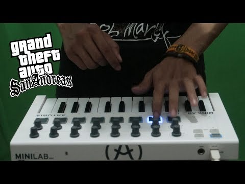 Gta San Andreas Theme Song (cover)  Instrumental