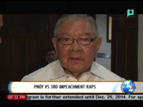 NewsLife: President Aquino vs. 3rd impeachment raps || July 24, 2014