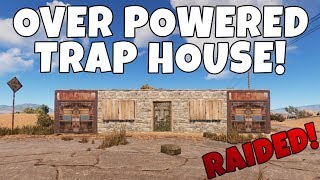 RUST | THE OVERPOWERED TRAP HOUSE!