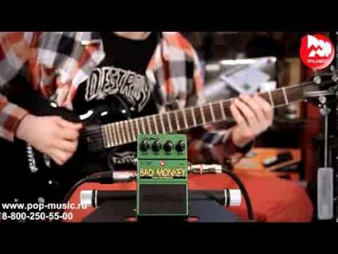 Топ 8 бюджетных гитарных эффектов