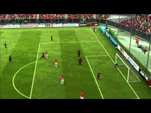 FIFA 13 - PS3 - Gameplay Comentado