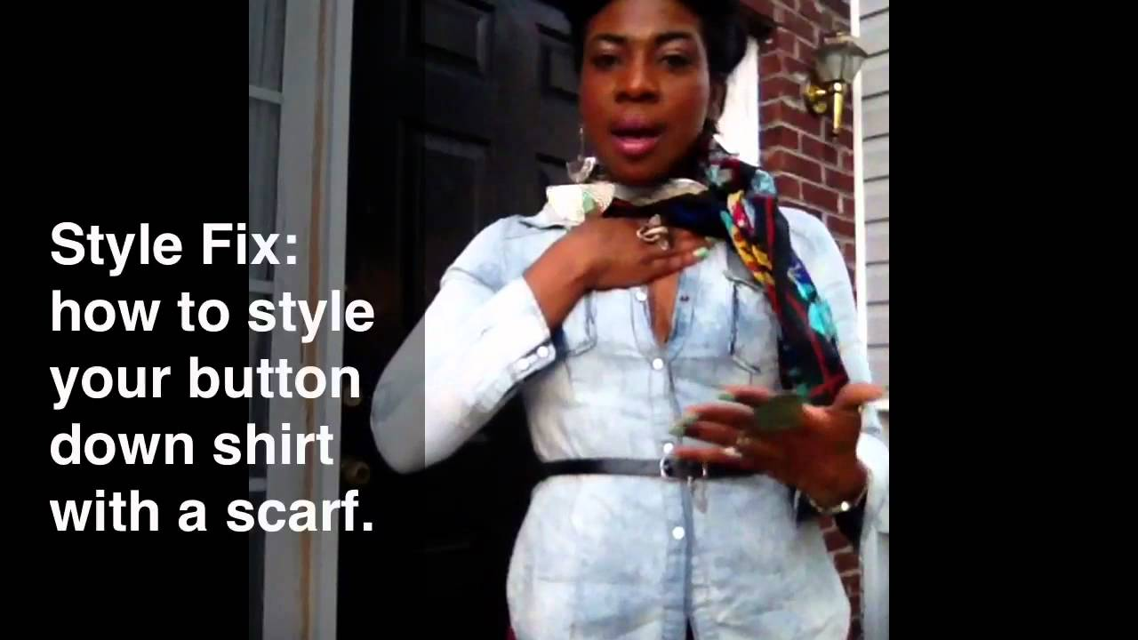 Style Fix How To Style Your Button Down Shirt With A