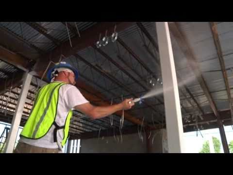Cafco Sprayfilm Wb 5 Intumescent Coating By Isolatek