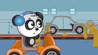 Car Cartoons For Children | BeBe Workshop Videos For Babies by Kids channel | Cartoons about cars 7