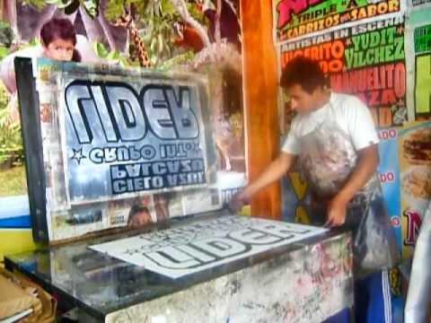 AFICHES -  SERIGRAFIA - ESTAMPADOS - HUANCAYO - PERU
