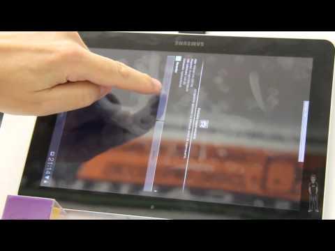Tablet Samsung Galaxy Tab 10.1 3G. Ejecutar scripts con GSCRIPT LITE.