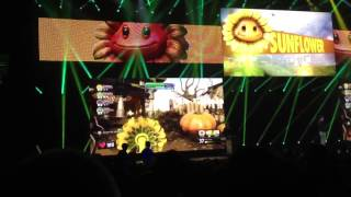 E3 2013: EA Press Conference Plants vs Zombies Garden Warfare Demo