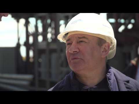 Аркадий Ротенберг побывал на стройке Керченского моста