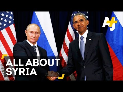 Obama & Putin Differ On Syria At U.N. General Assembly