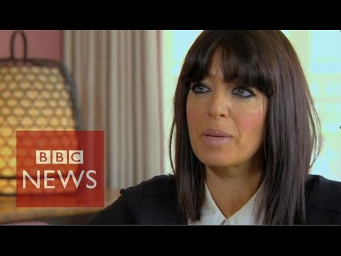 Claudia Winkleman: 'My daughter was on fire' - BBC News
