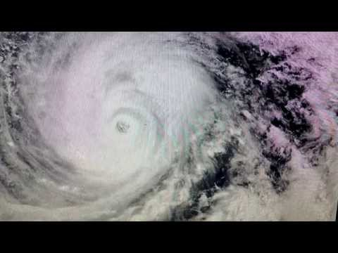 """Japan Braces For Typhoon Vongfong"" Fukushima In The Path"