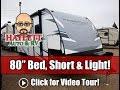 UPDATED 2020 Passport 199ML Murphy Bed Short & Light Couple's Camping Keystone Travel Trailer