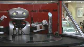 Asian beer robot.