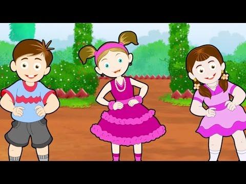 Nursery Rhymes | Mere Pass Hai Naukar Chaar Hindi Rhyme For Babies & Toddlers video