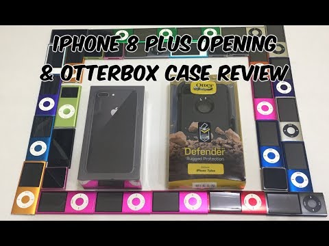 Apple iPhone 8 Plus Opening & Otterbox Defender Review + Compatibility Test iPhone X Soon!