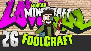 Minecraft: FOOLCRAFT | The GRAFFITI TROLL 🎨 | #26 | Modded Minecraft