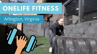 Work Out While Your Kids Play at Onelife Fitness 💪 in Ballston Arlington, Virgina