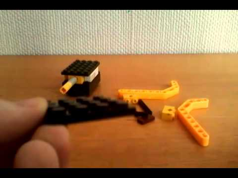 LEGO Sniper rifle INSTRUKTIONS PART 1