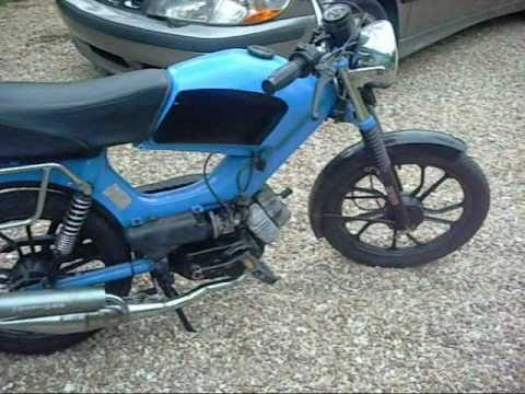How To Start a Tomos Moped