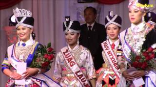 Fresno Hmong International New Year 2016 - 2017: Pageant - Crowning Maiv Ntxuam Xyooj