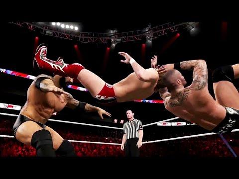 Wwe 2k15 - Randy Orton Rko Vs Batista Bomb Gameplay Trailer (ps4 xbox One) video