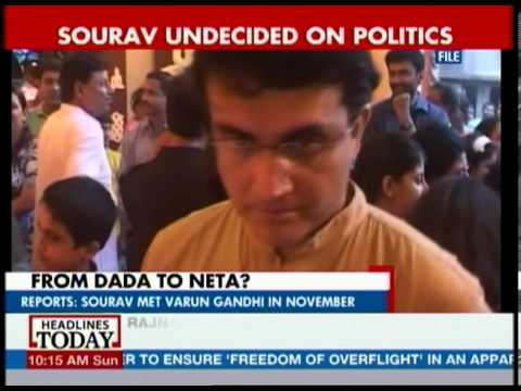 Lal Patti for Dada? Sourav Ganguly approached by BJP to contest election