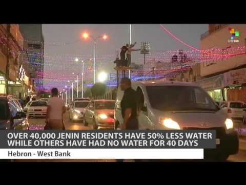 Israeli Company Cuts off West Bank Water Supply