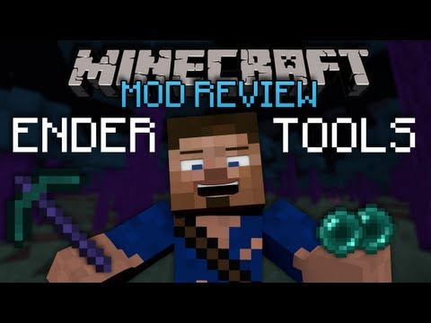 Minecraft: Mod Reviews - The Ender Tools & More Mod!!