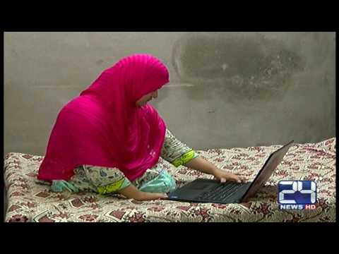 24 Report:  Story of a brave girl who did M phir despite of being handicapped