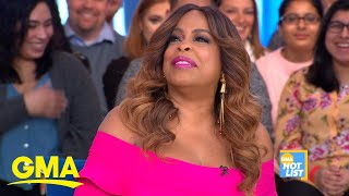 'GMA' Hot List: Niecy Nash says her neighbor, Shaq, wants to star in a film with her