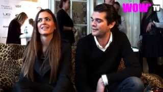 WOW* TV : Astrid Bryan, Louis Talpe (and other celebs) at the Gift Suite in Antwerp